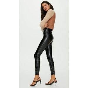 Aritzia Wilfred free Daria faux leather leggings S